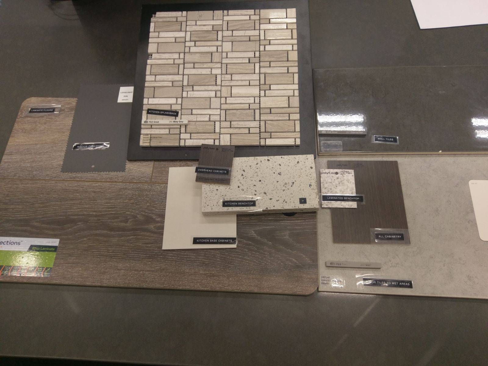 Fair Haven Homes building experience - Wall tiles