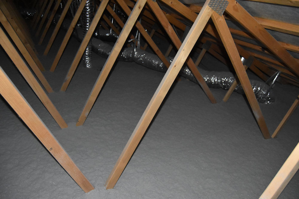Roof insulation and building code