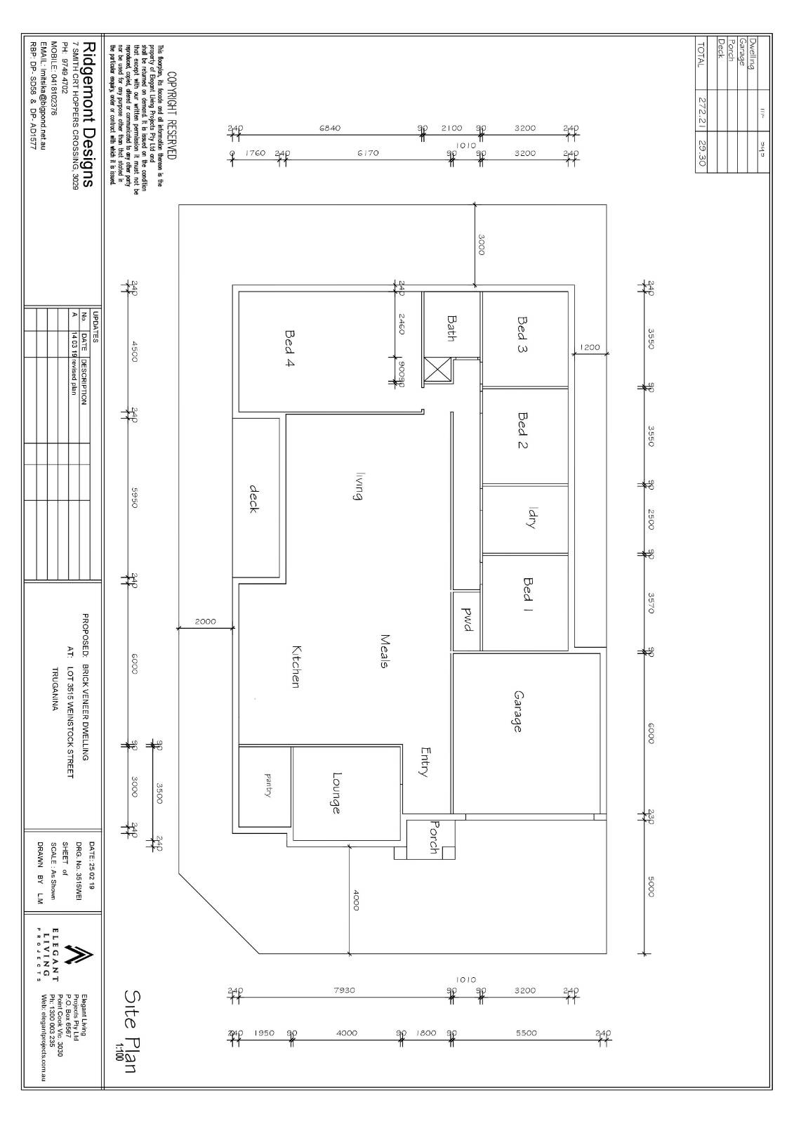 Help with north facing block