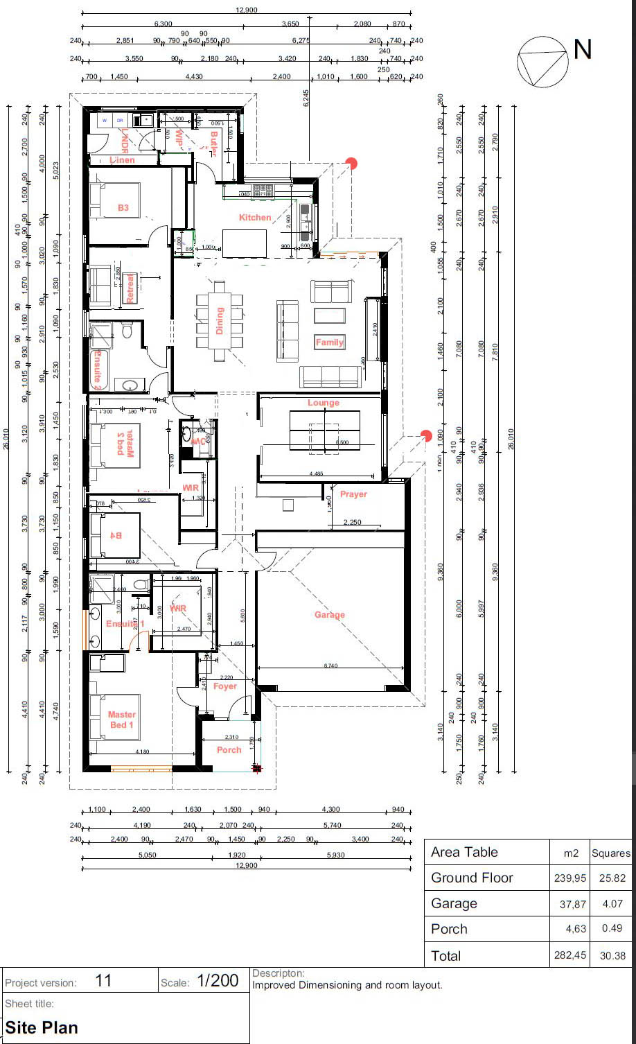 Seeking feedback ideas for 30sq Custom Floorplan - SE Melbou