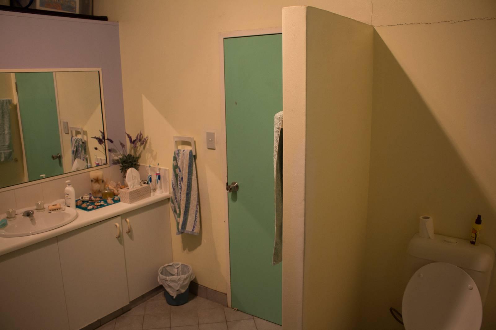 Ensuite bathroom door - required or not?