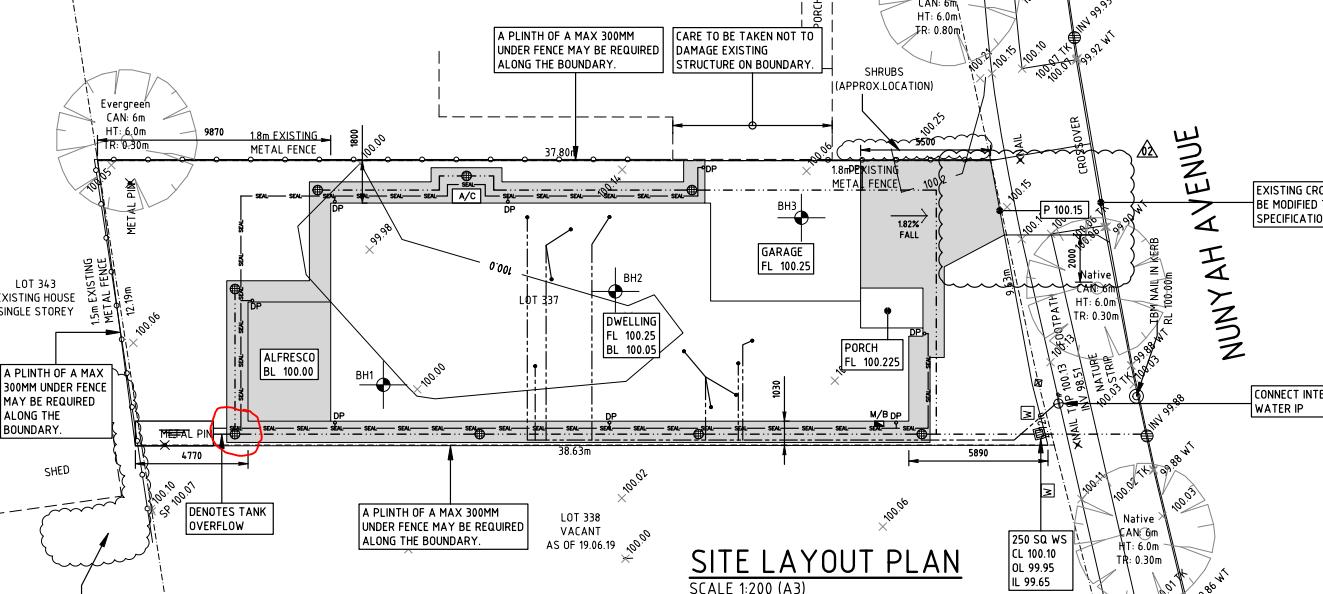 Engineer report stormwater