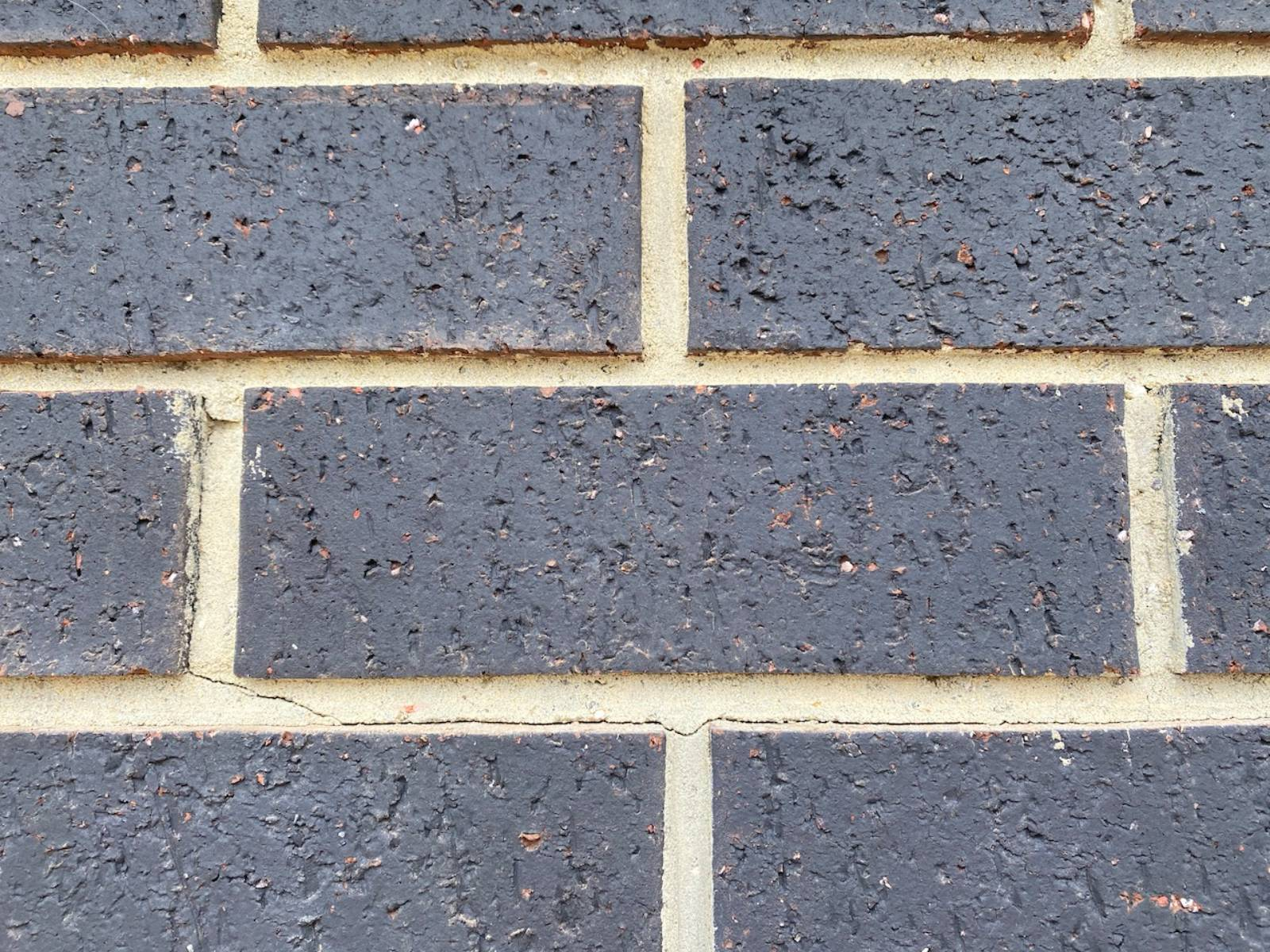 Cracks in Cement between bricks. Reason for Concern?