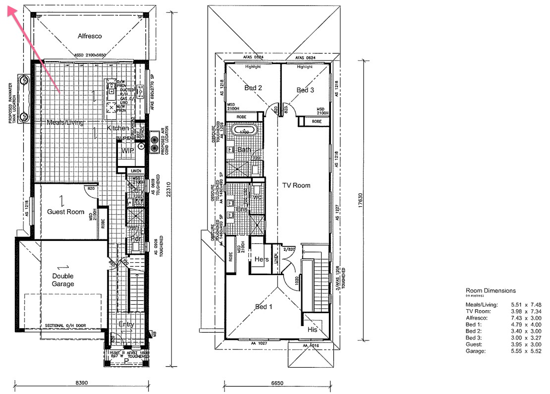 Feedback on floor plan