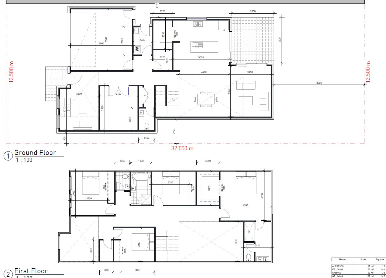 Review my Custom Floor plan? [Double Storey, NSW]