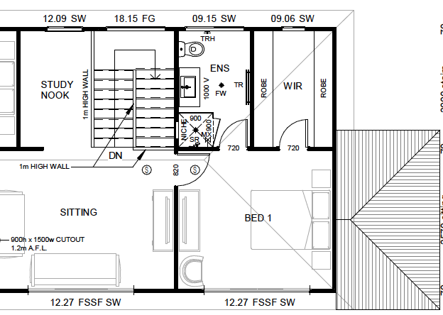 Feedback on 2story narrow house