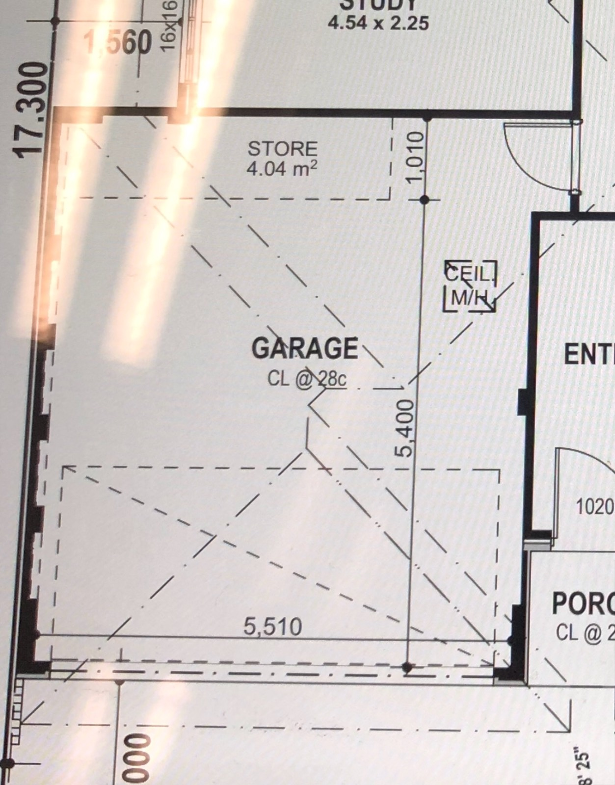 Is my potential double garage build too small?