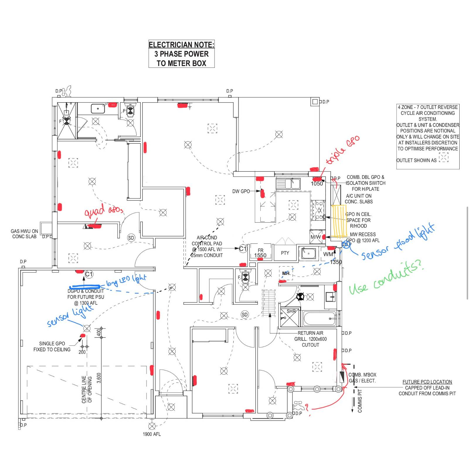 Electrical Plan Critique/Help