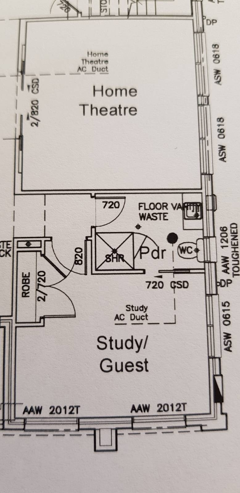 2 entry point for bathroom?