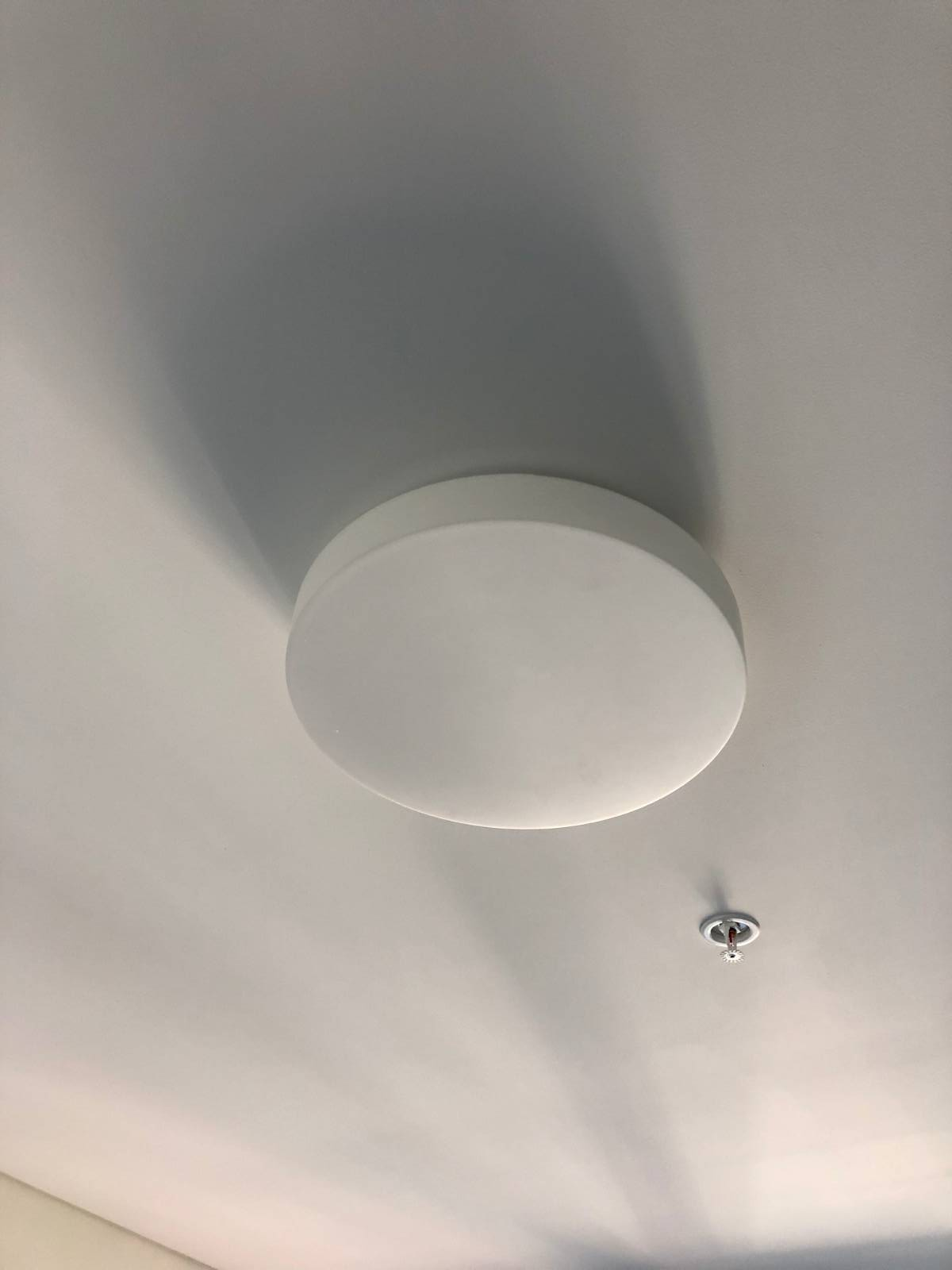 Flush Mount Round Ceiling Light Question