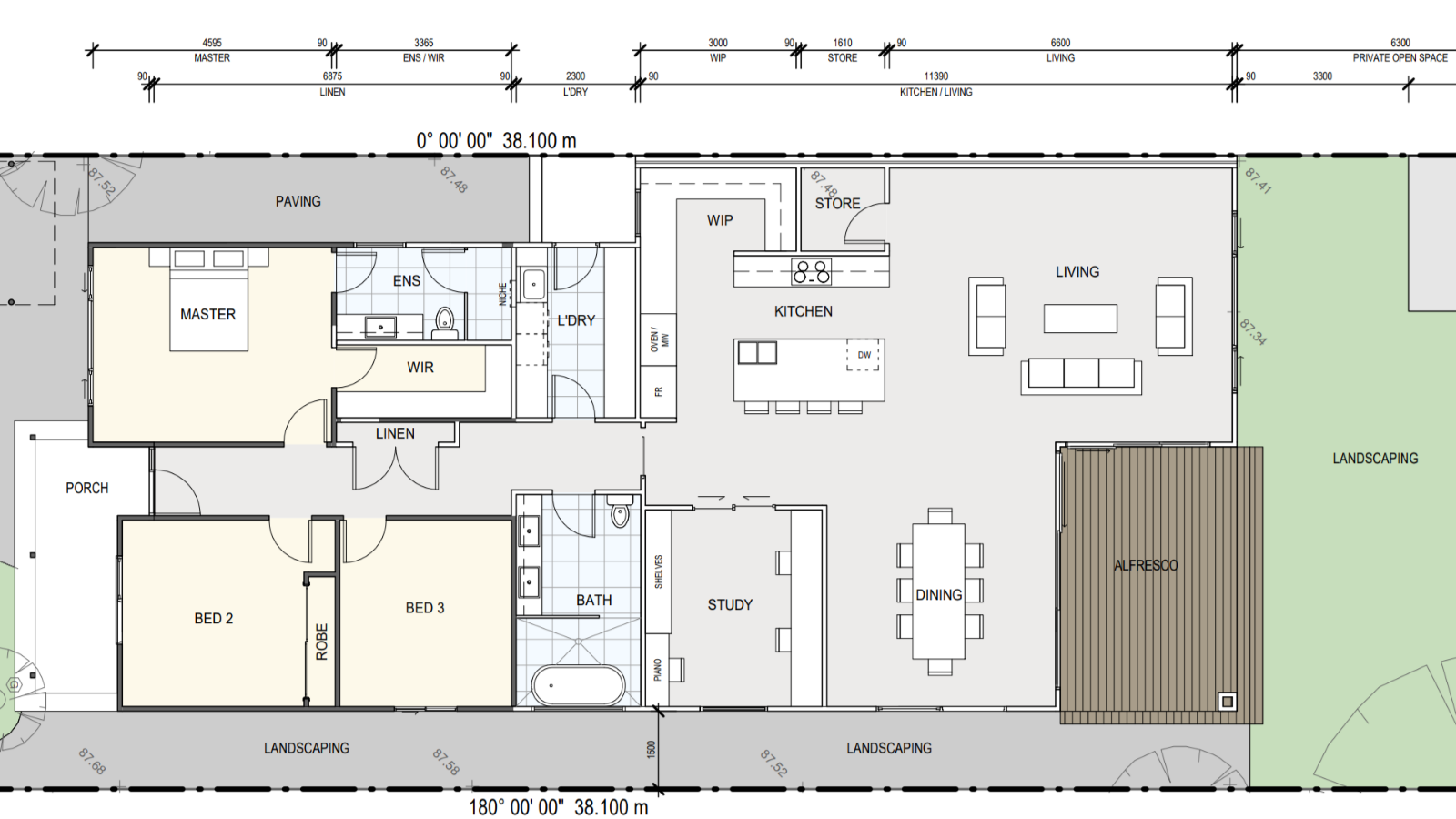 Feng Shui tips/advice on my proposed floorplan?