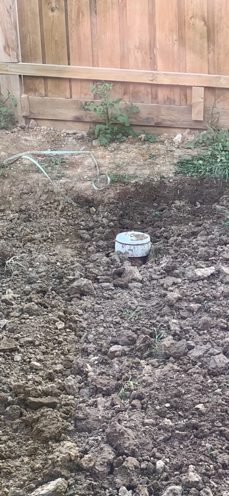 Patio area for a new build - What is this?