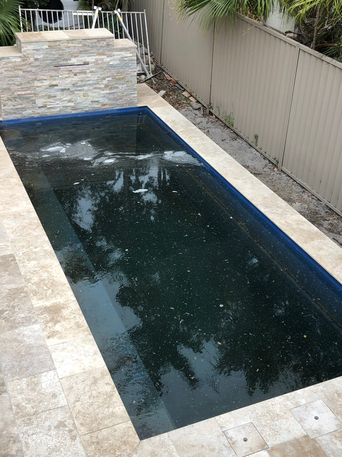 Help with pool builder