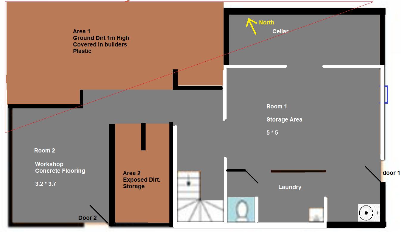 Basement/Underground Ventilation
