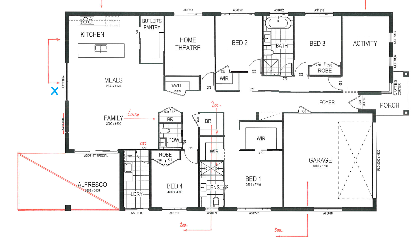 Floor plan feedback