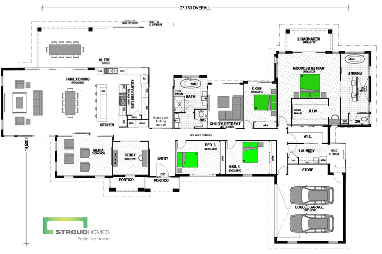 My Floorplan - Any Advice - Stroud Montego