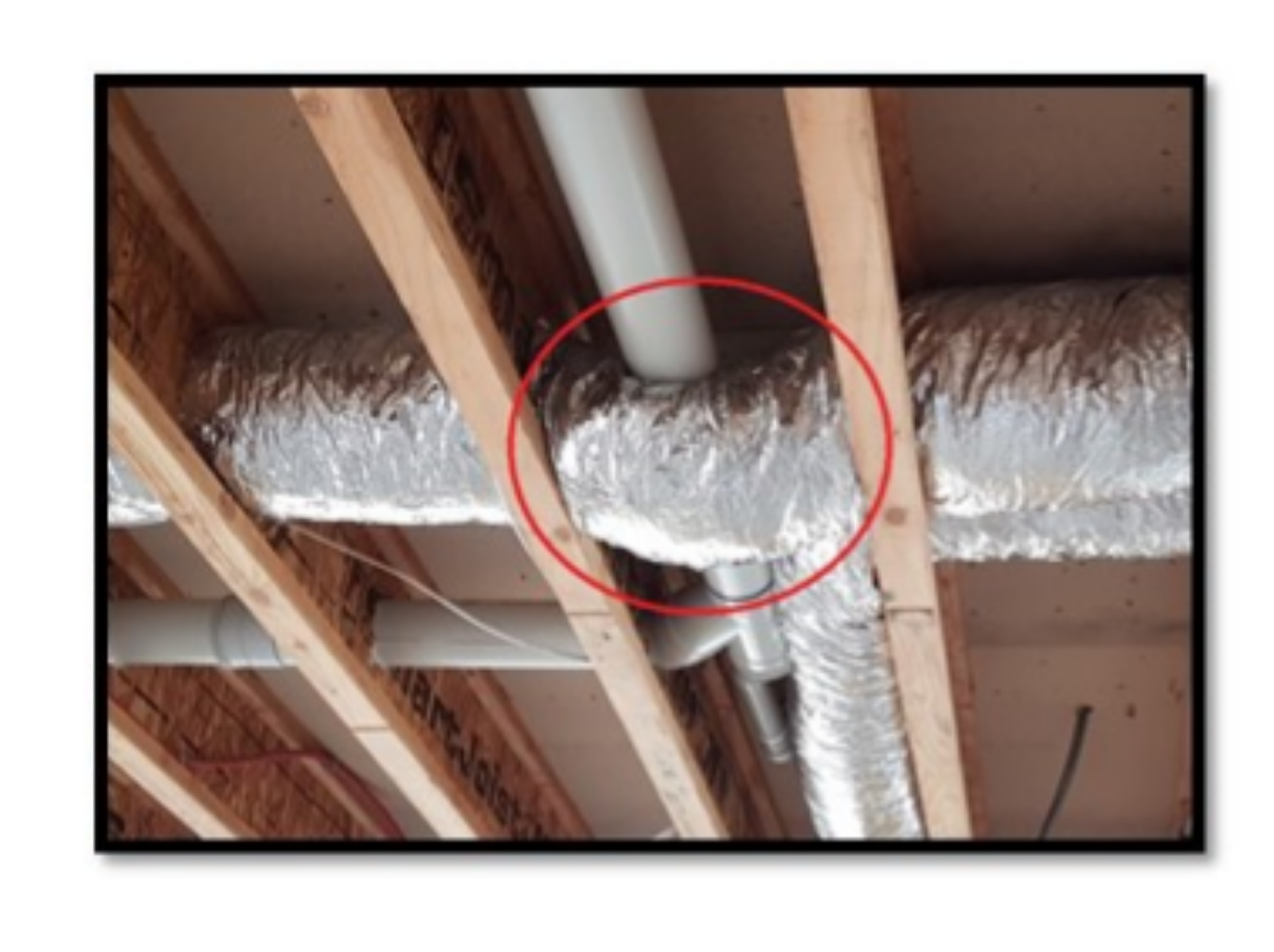 Heating/Cooling duct - correct installation