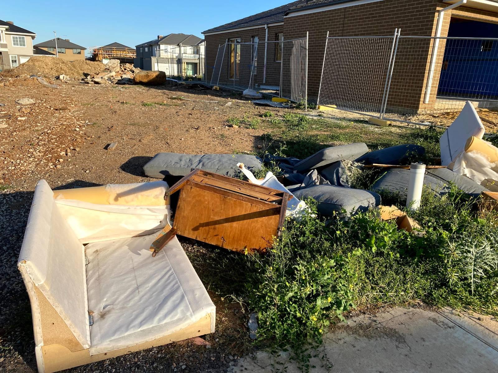 View: Pre build Site clean up