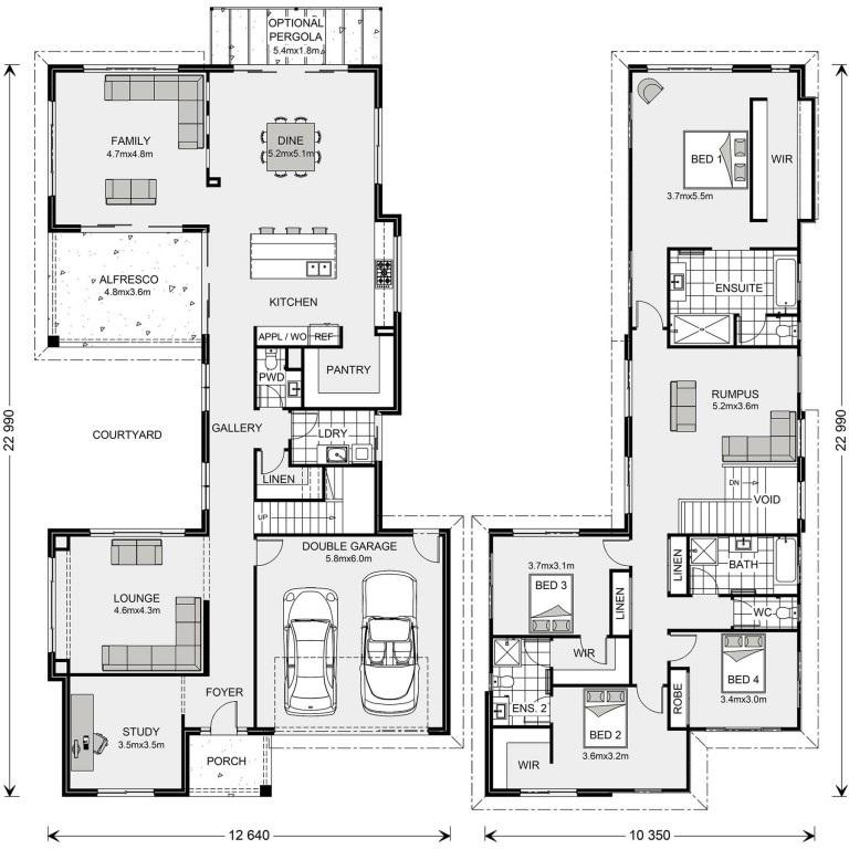 Choose which builder/Floor Plan?