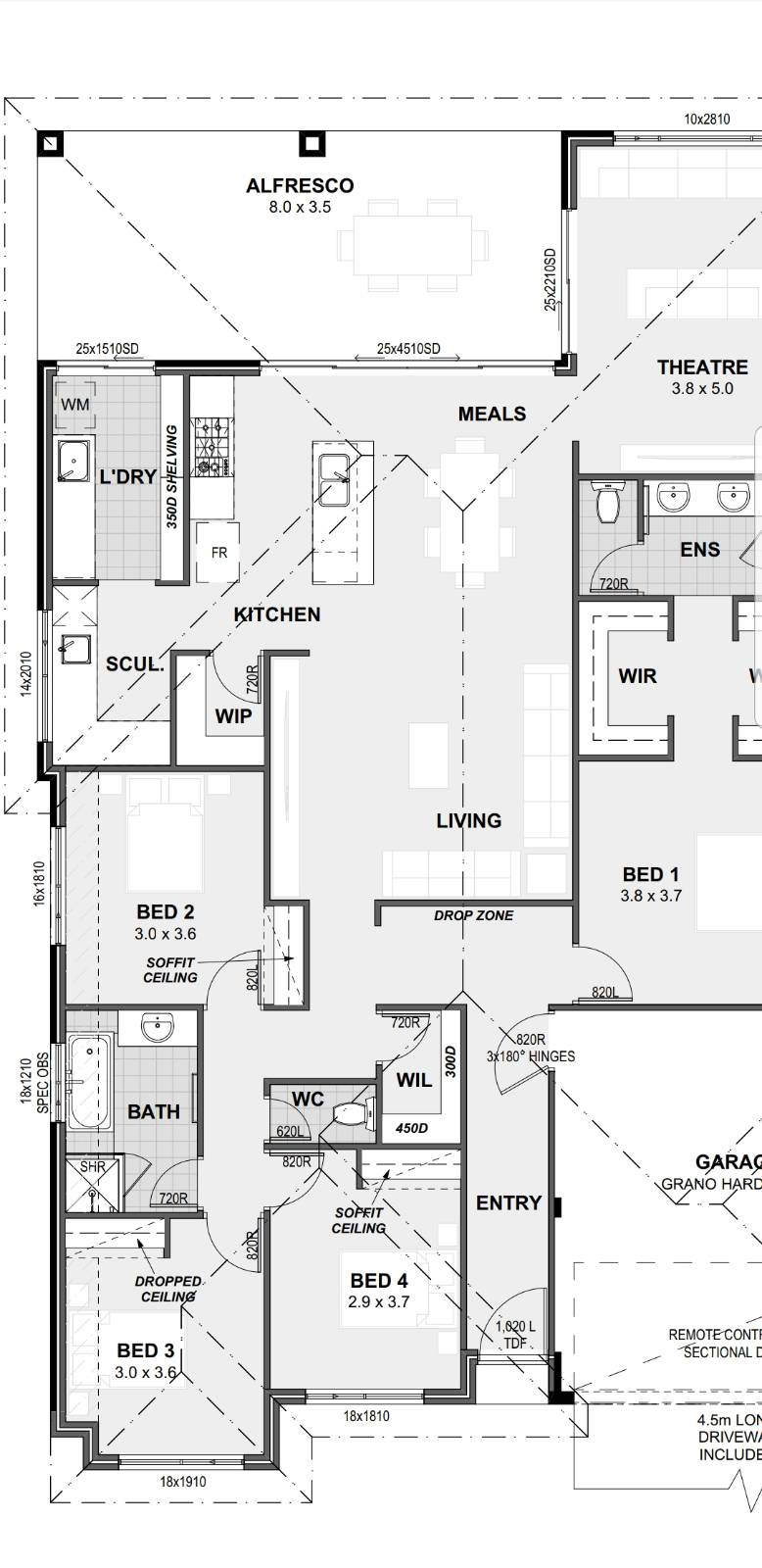 First home, house plan