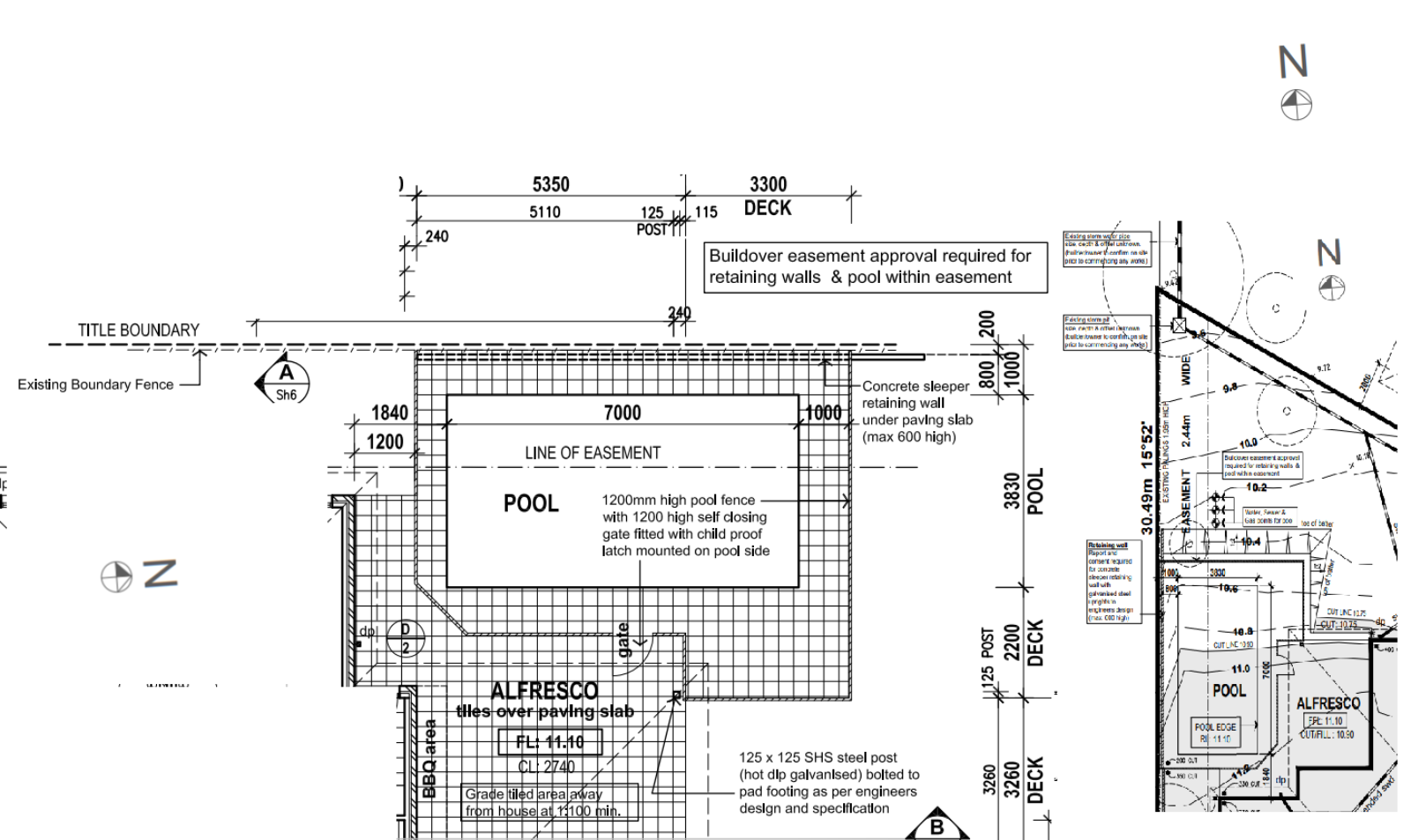 Adding a pool into a new home build