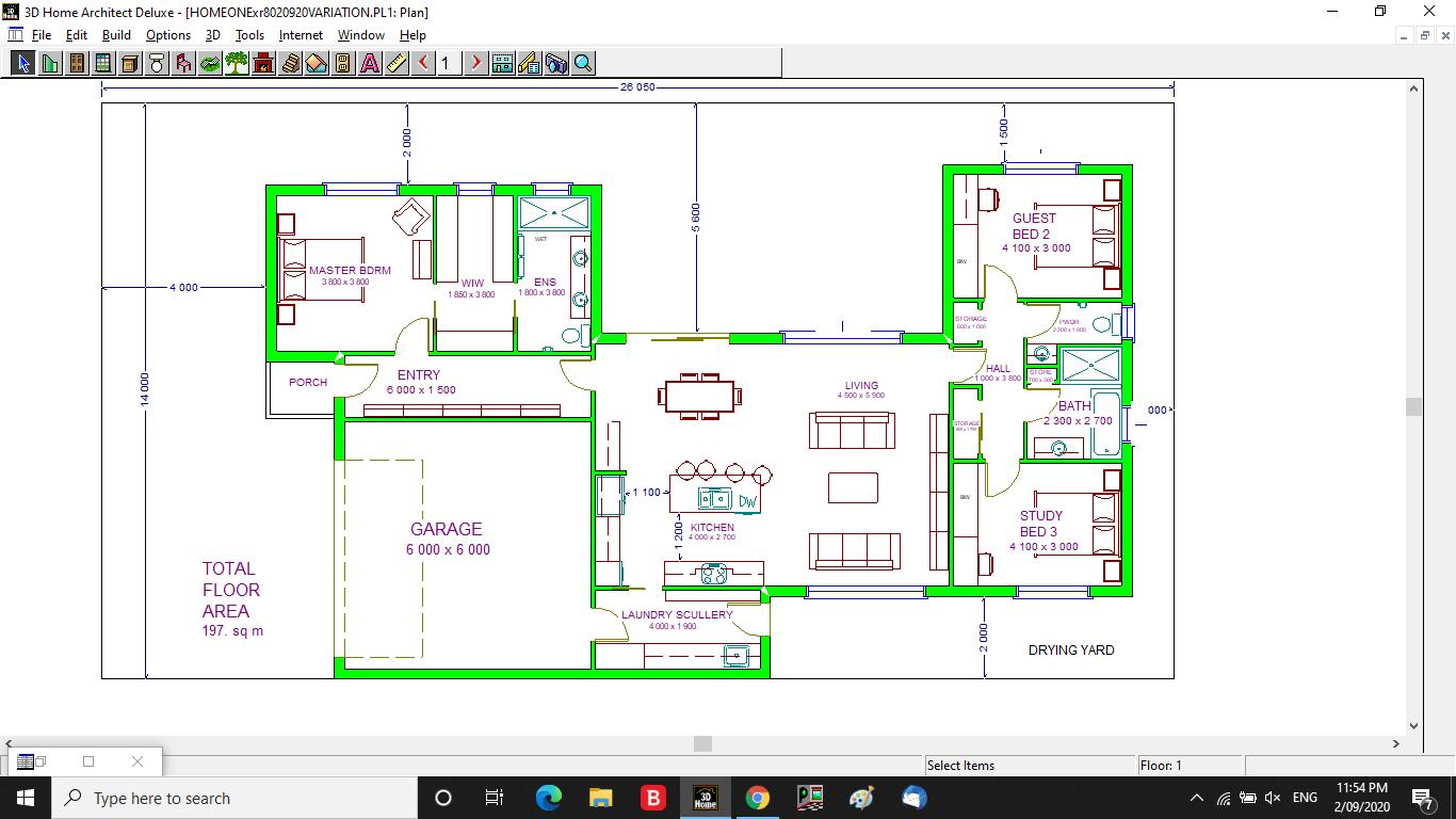 Floor plan feedback