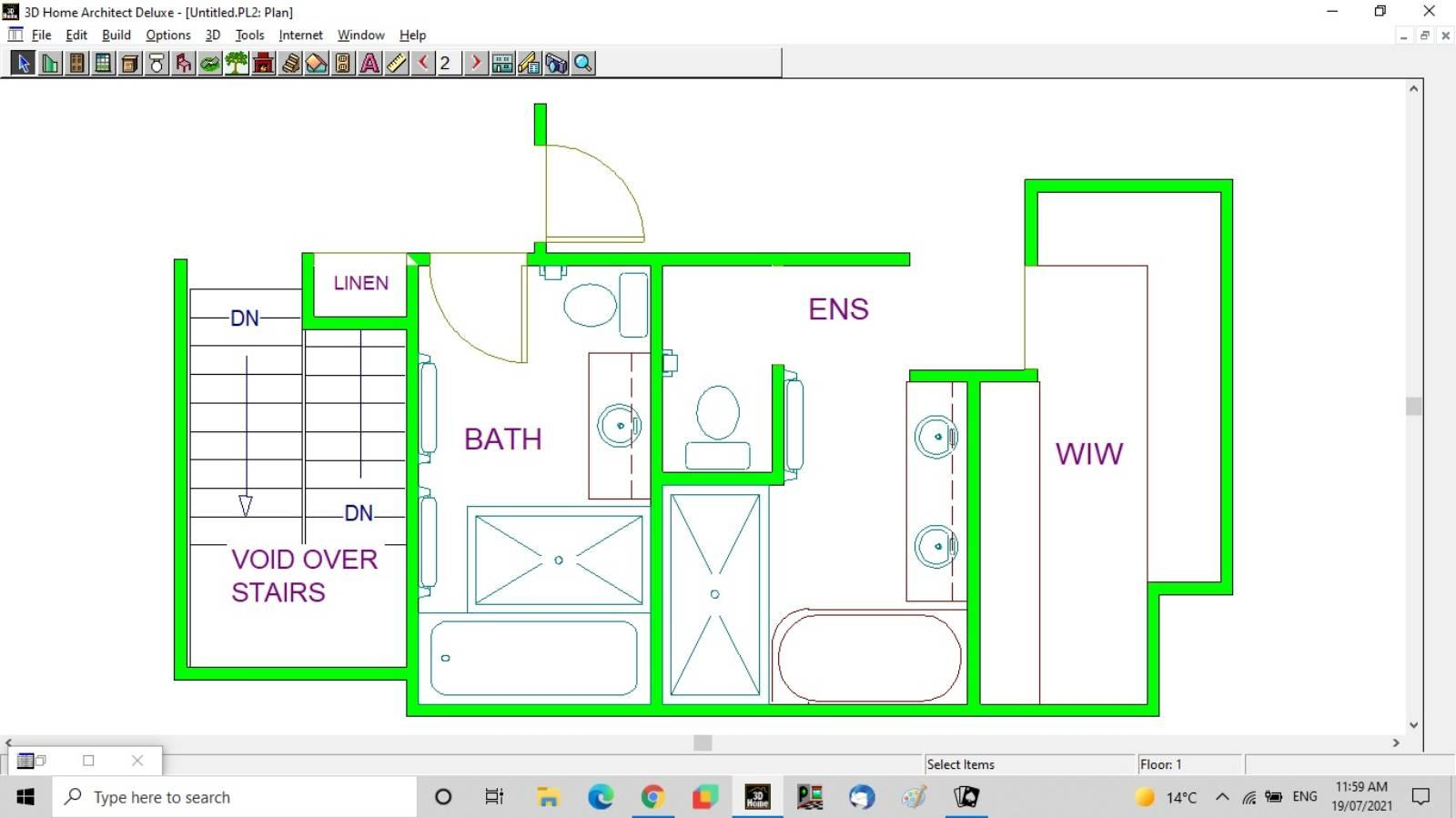 Bathroom and ensuite layout suggestions
