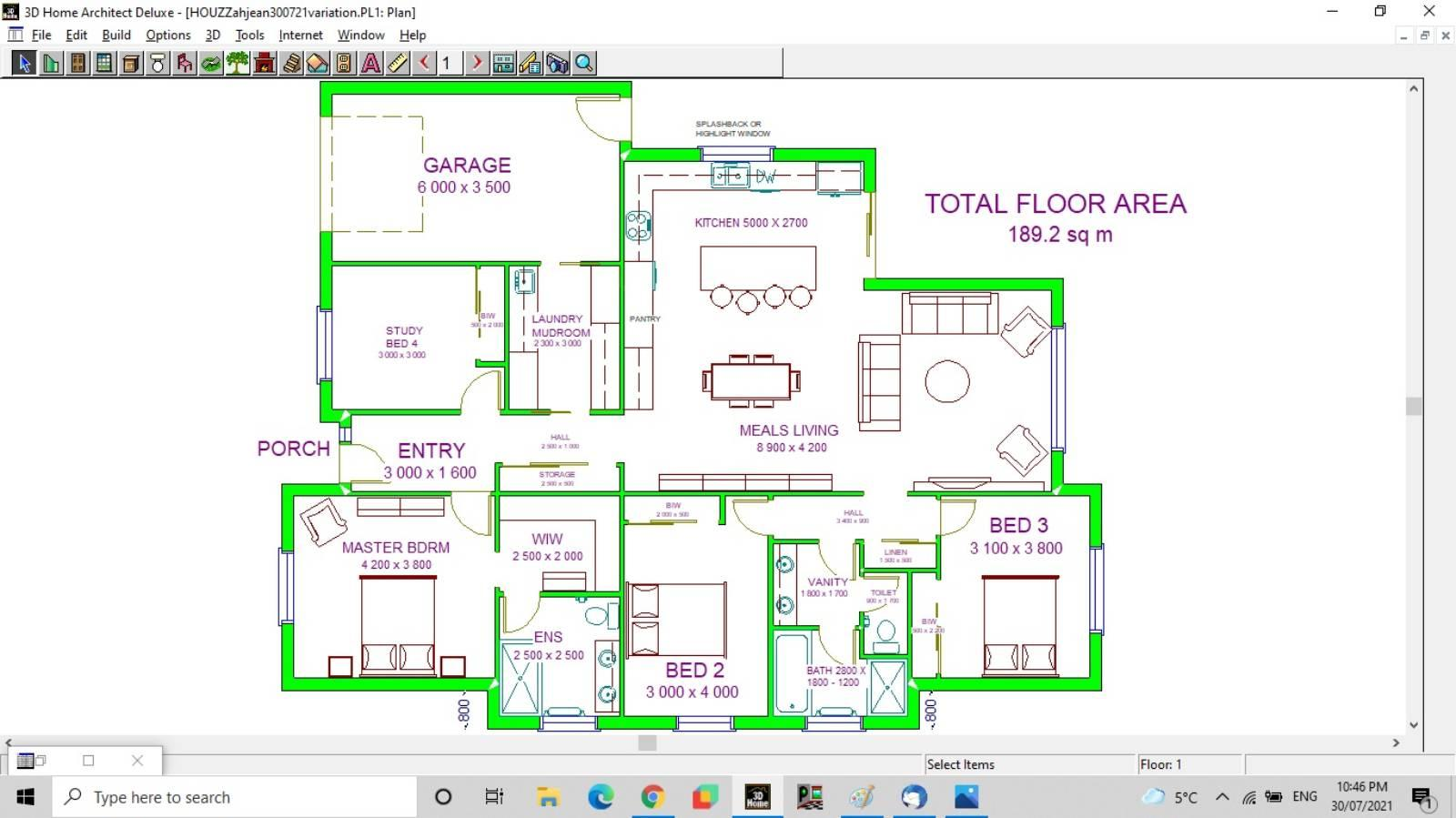 Floor Plan Feedback for Single Story