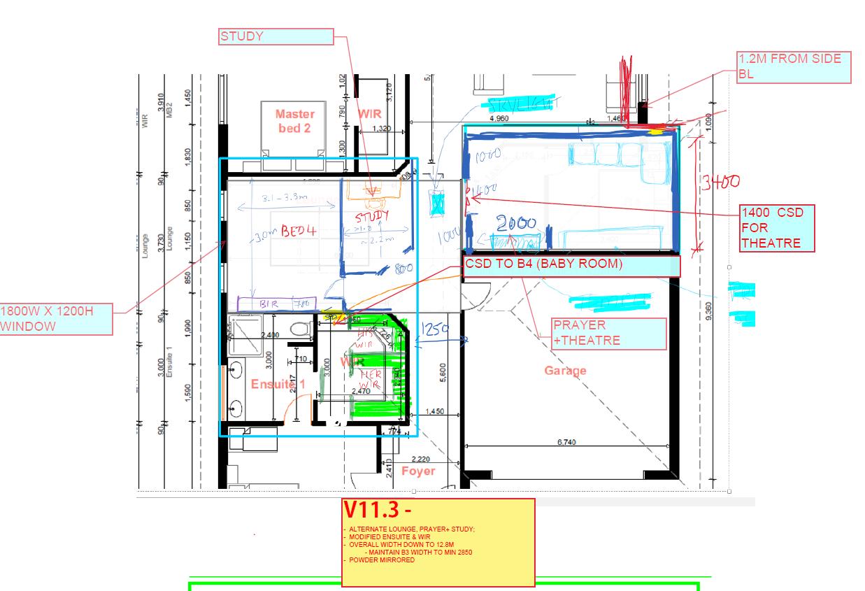 Seeking feedback ideas for 30sq Custom Floorplan - SE Melbou