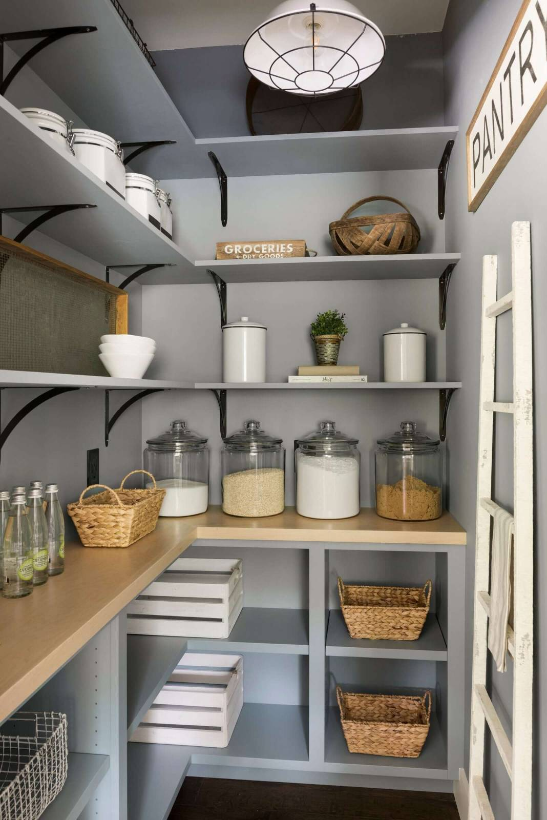 Walk in Pantry shelf hights
