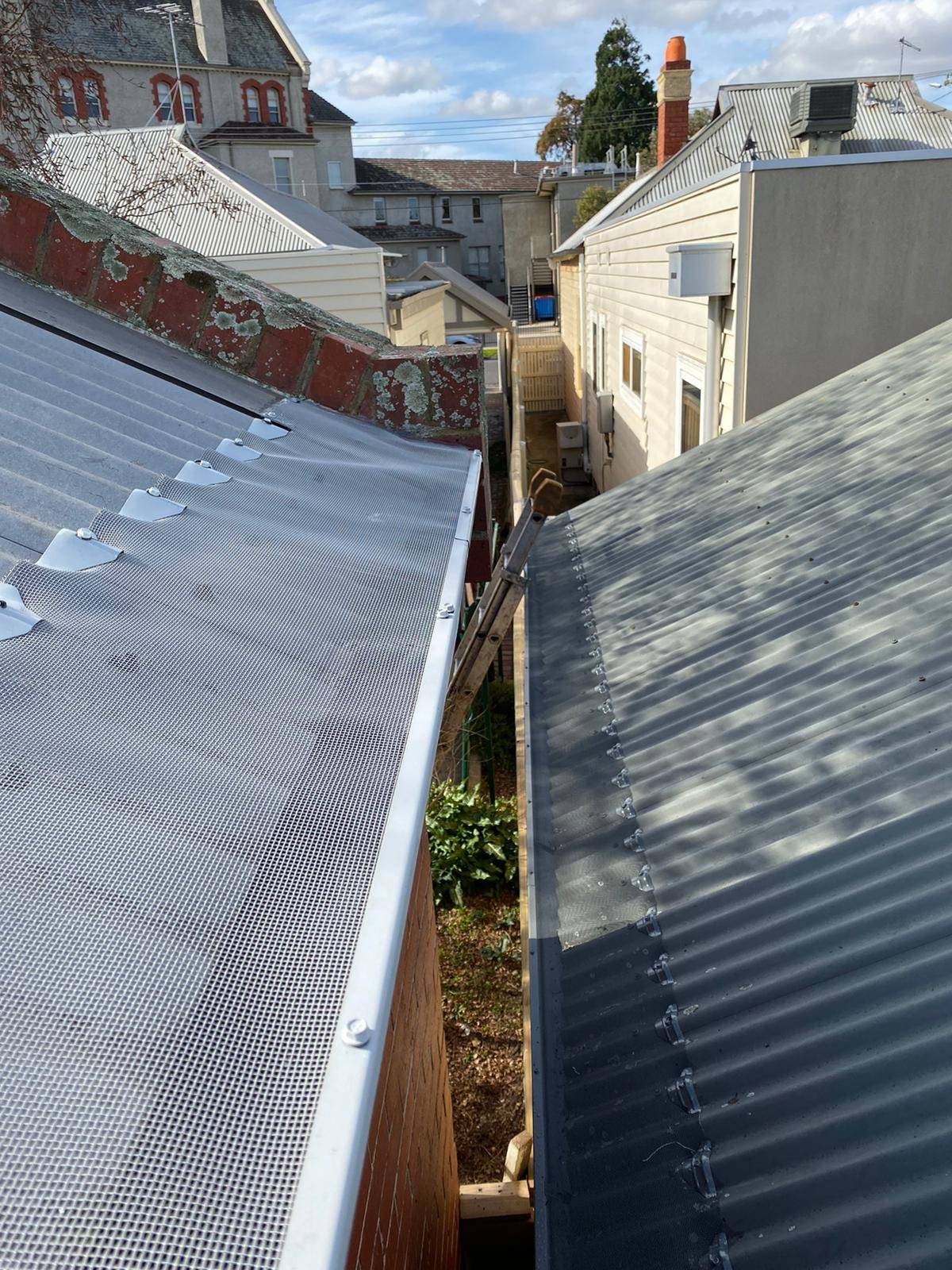 Gutter Protection for Bayside Construction Jobs