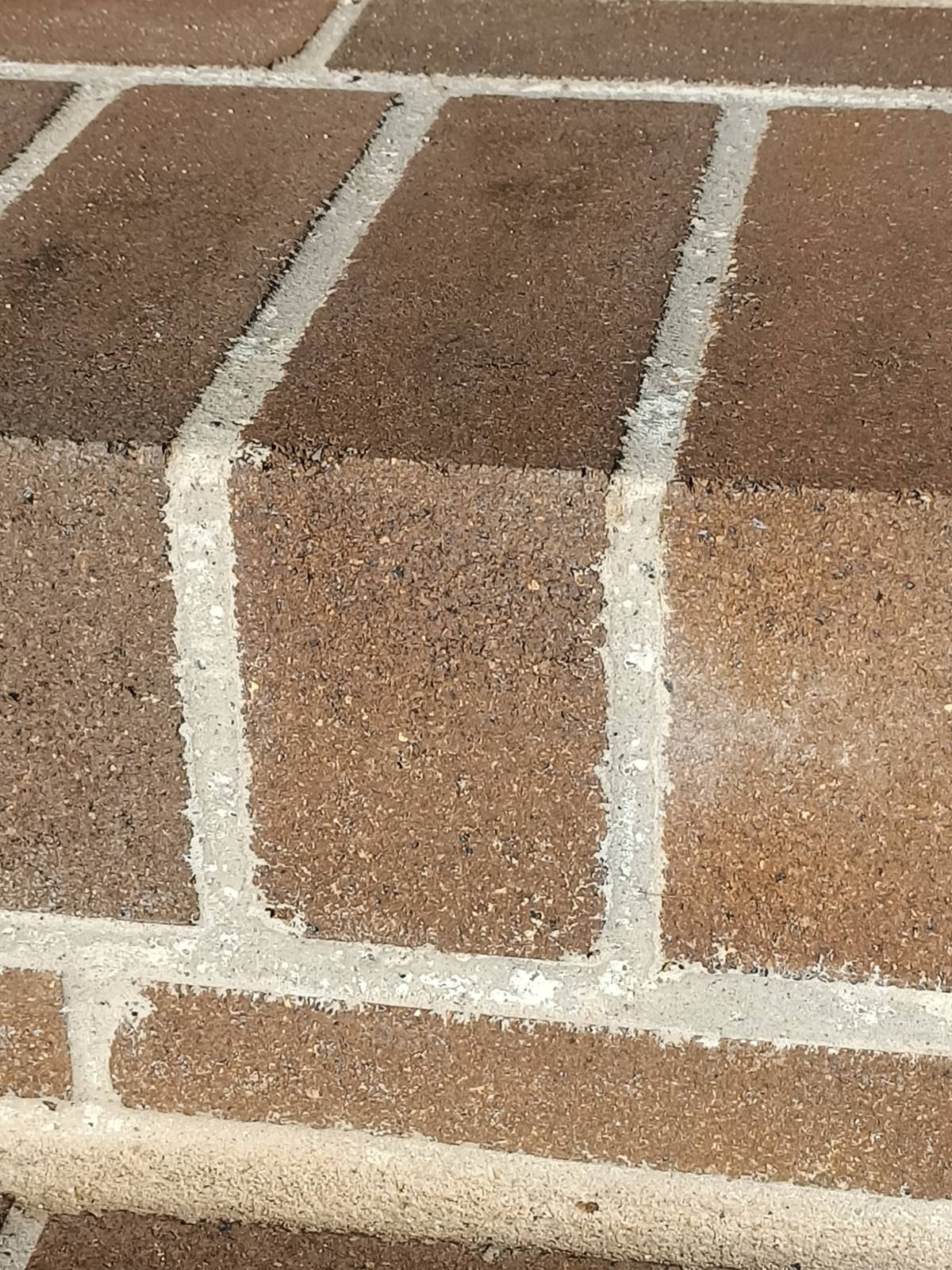 Mortar stains?
