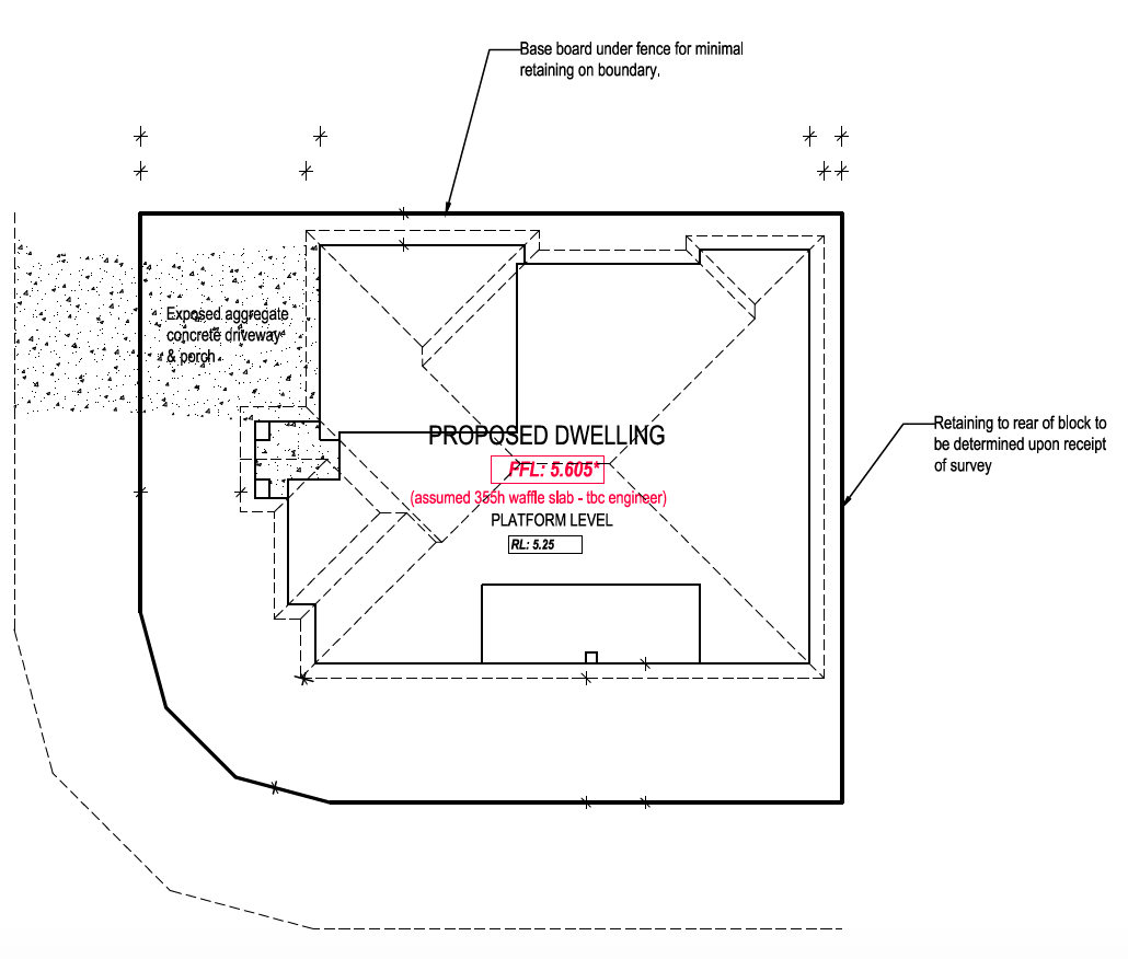 Floor Plan - Advice for Square Block