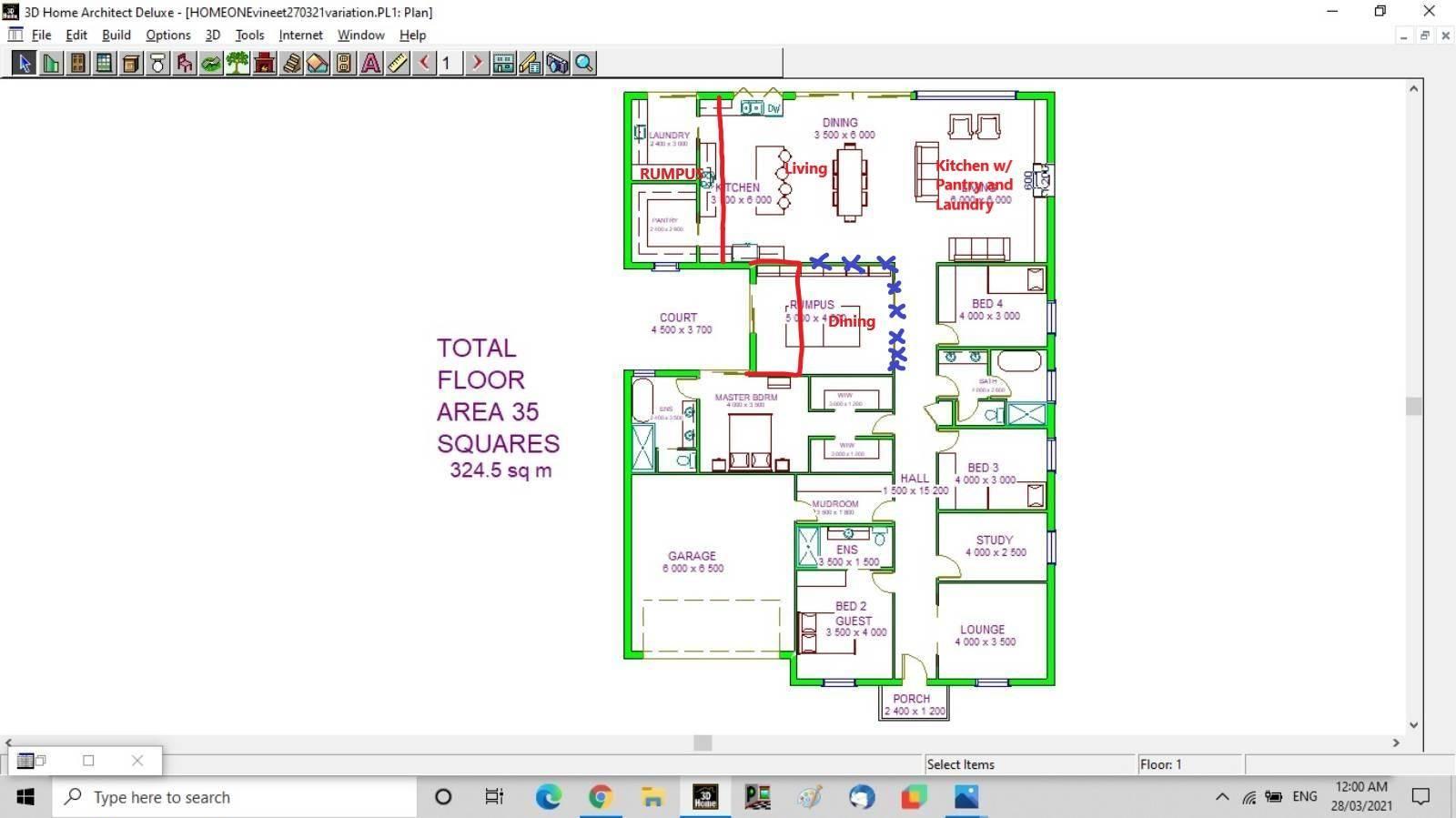 Needs feedback on the Floor Plan